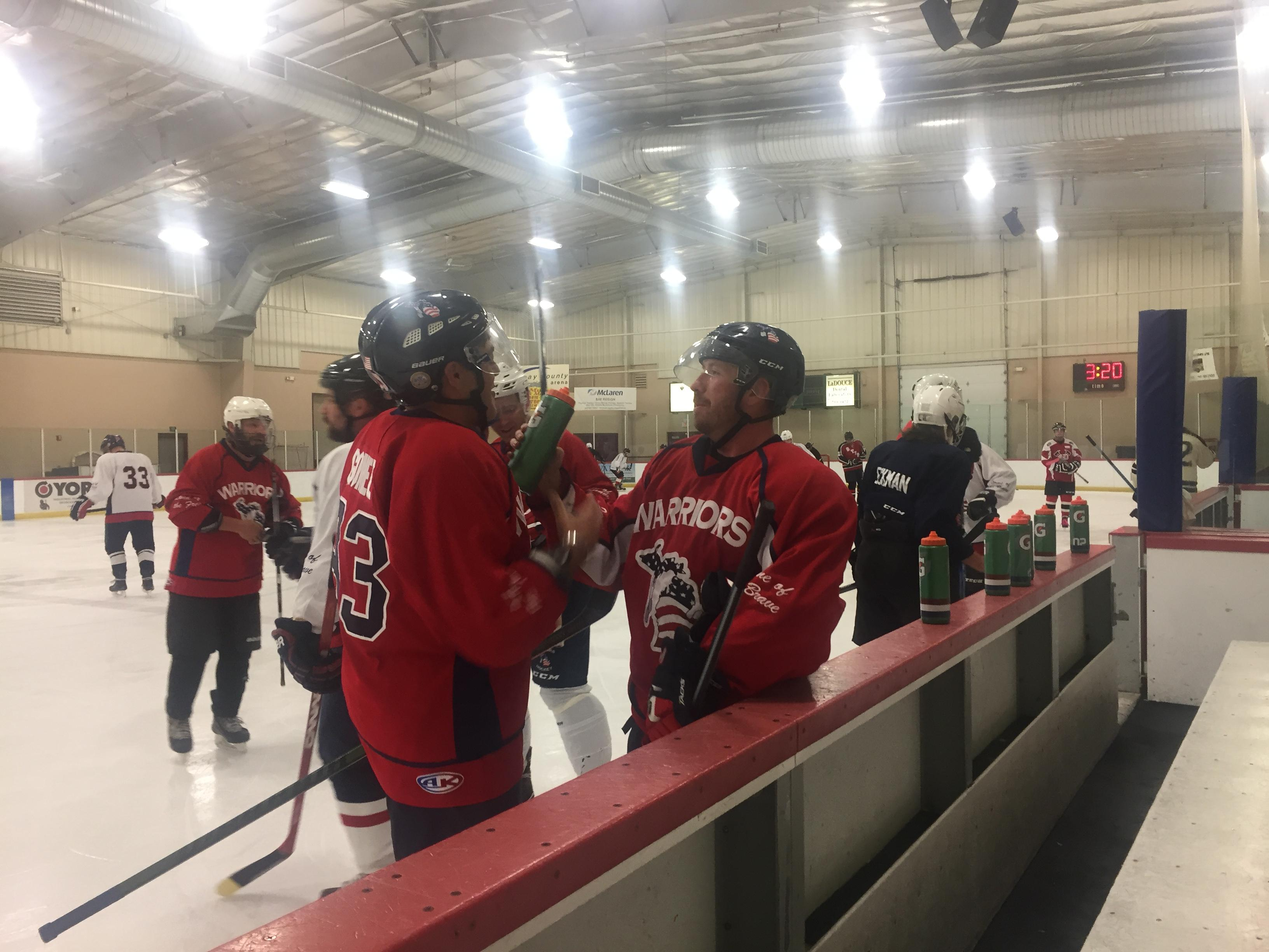 <p>For many veterans' war isn't the biggest battle of their lives, it's returning home to civilian life. However, disabled vets are finding a unique type of therapy to help them heal both physically and mentally, hockey. (WEYI/WSMH)</p>