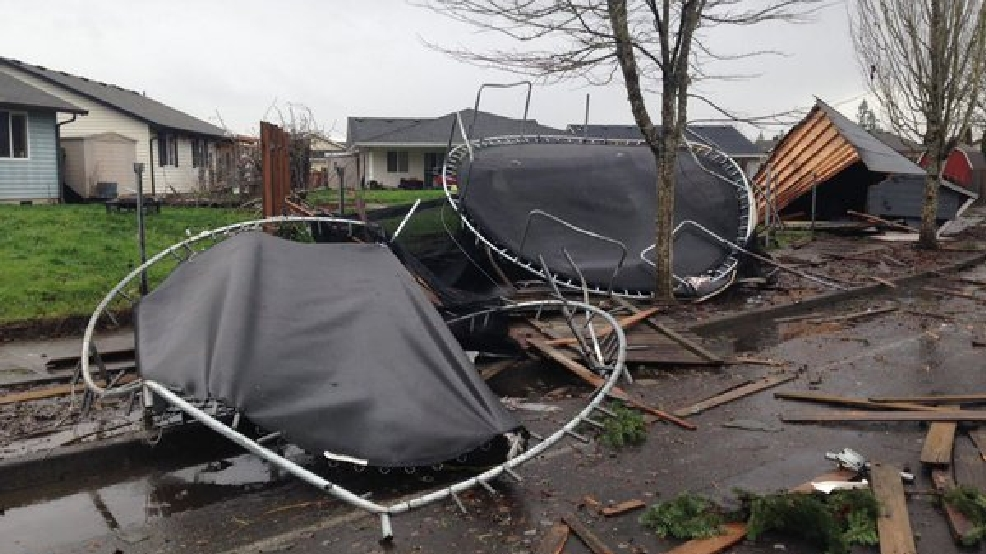 Confirmed Tornado Hit Battle Ground Washington Kval