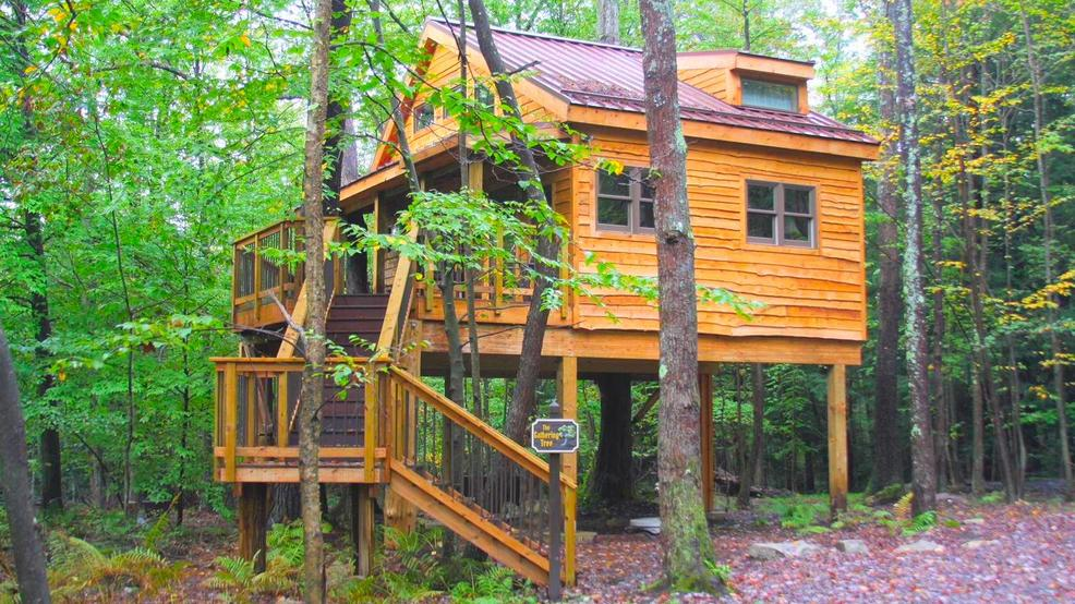 Treehouse Stay Virginia Treehouse Getaways Blue Ridge Mountains