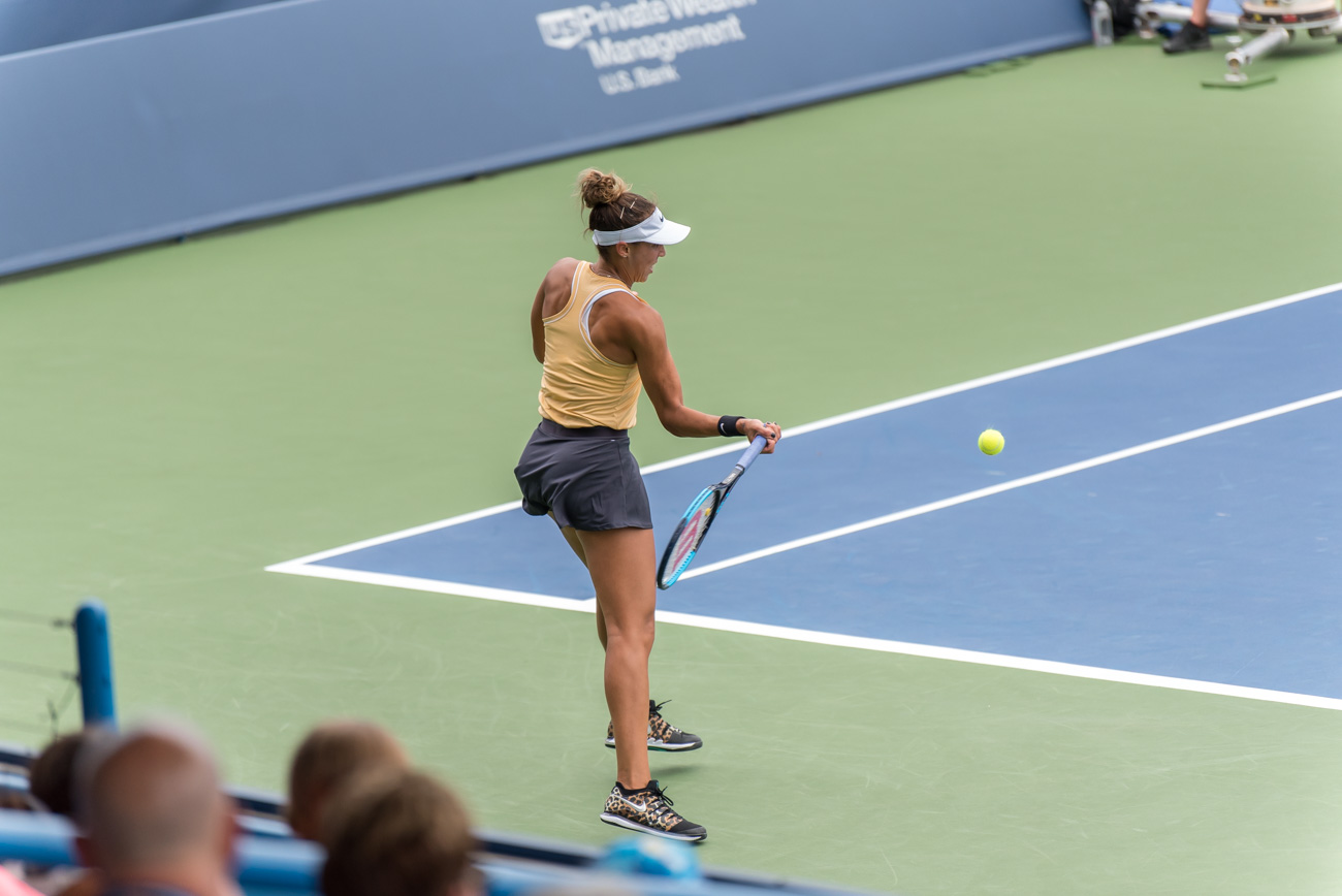 Madison Keys / Image: Mike Menke{ }// Published: 8.14.19