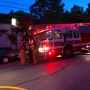Six people rescued from fire, including newborn baby