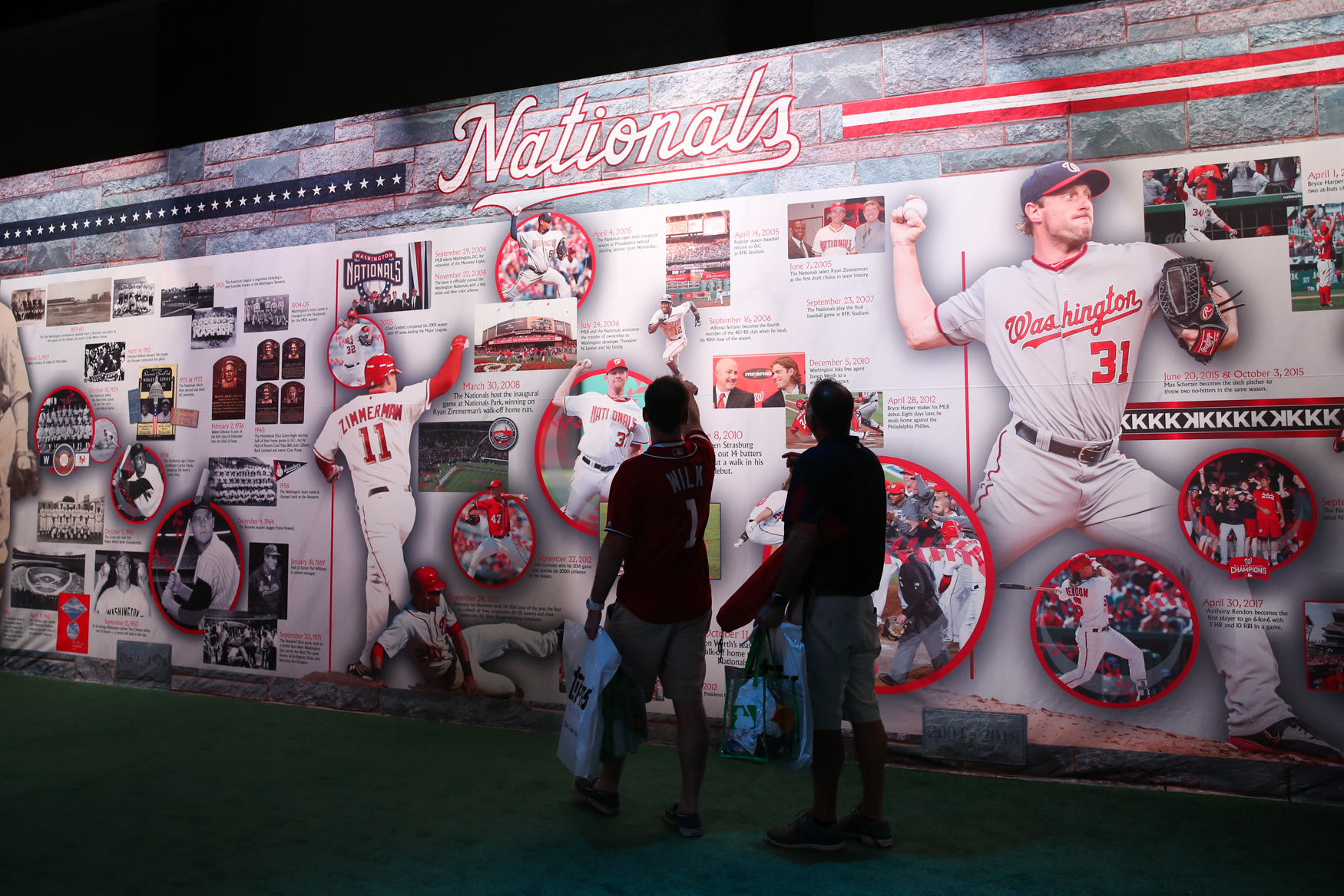 Not all of us were able to score tickets to the All-Star game, but you can still catch the baseball fever at FanFest. Between July 13-17, the Walter E. Washington Convention Center will be filled with all things baseball, giving fans the chance to meet the players, check out some memorabilia and even take a few swings at one of the many activity booths. (Amanda Andrade-Rhoades/DC Refined)