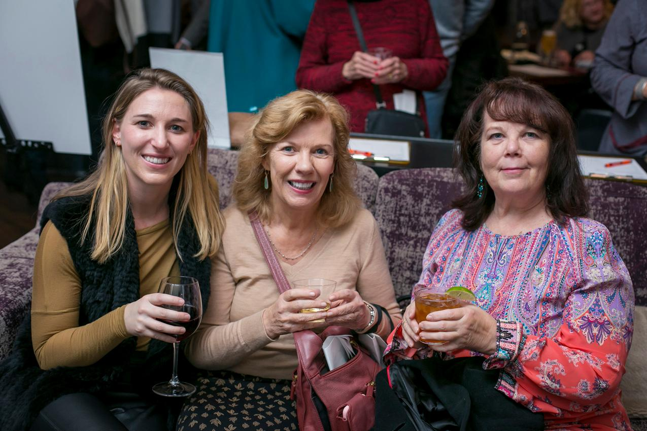 Laura Houston, Patty Houston, and Marilyn Bossman{ }/ Image: Mike Bresnen Photography // Published: 11.16.18