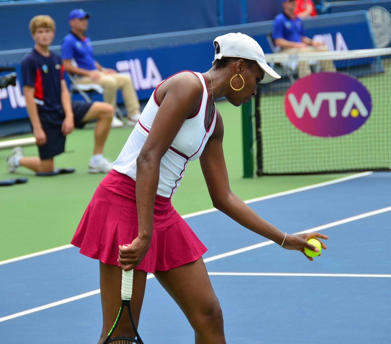 Venus Williams / Image: Leah Zipperstein, Cincinnati Refined // Published: 8.21.17