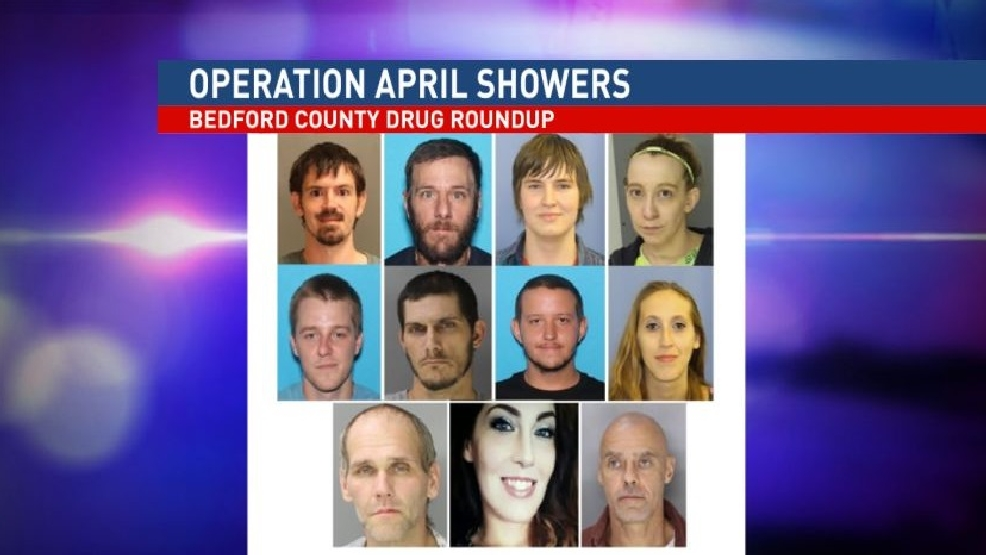 Operation April Showers Nets 9 Accused Dealers In