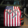 Grand Rapids police looking for person who hung American flag with Nazi swastika