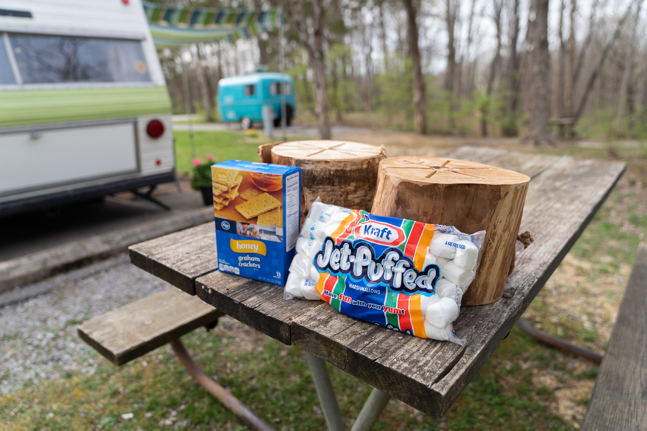 It isn't camping until s'mores are involved. / Image: Josh Purnell // Published: 5.12.19