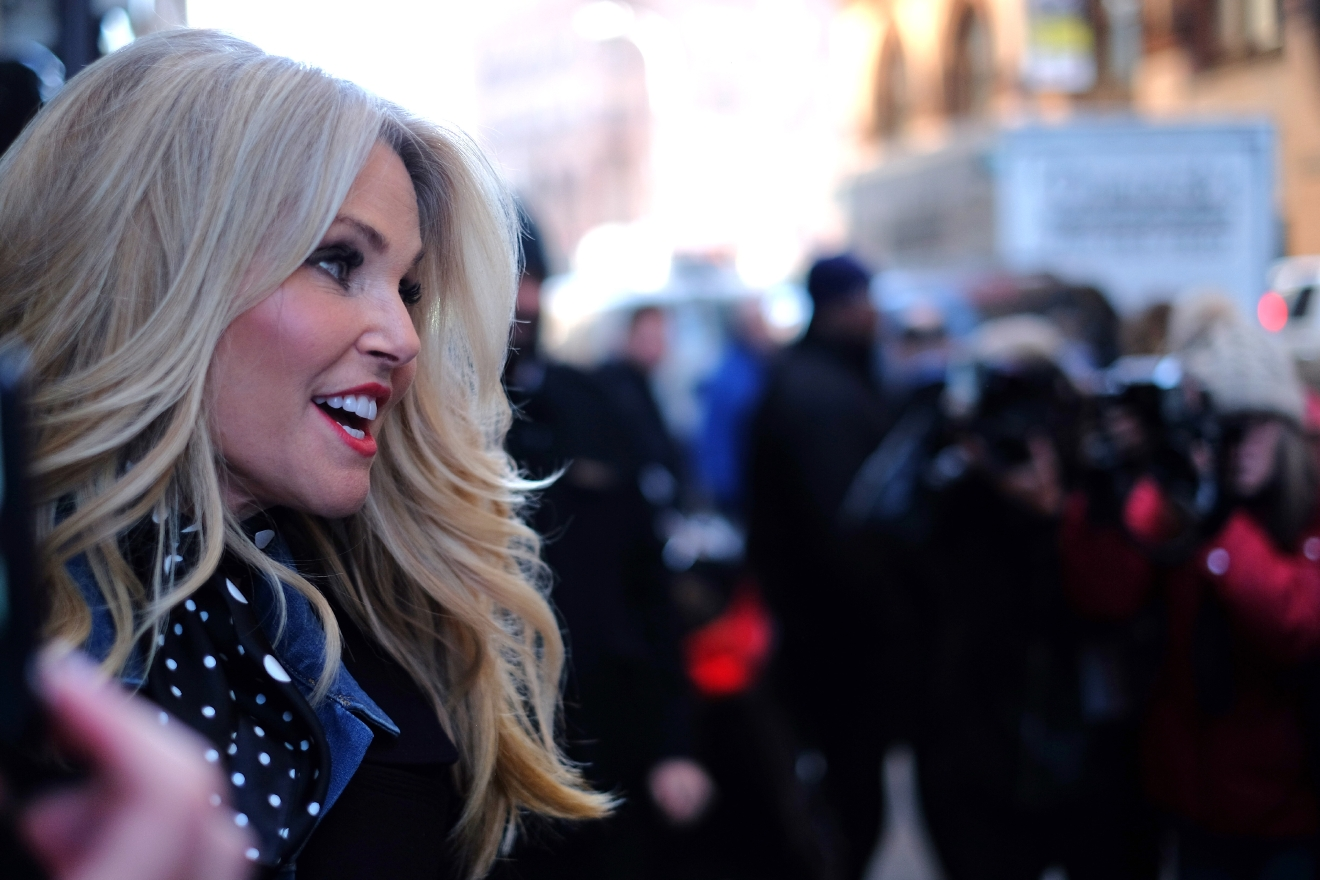 Christie Brinkley at the Huffington Post  Featuring: Christie Brinkley Where: New York City, New York, United States When: 29 Jan 2016 Credit: TNYF/WENN.com