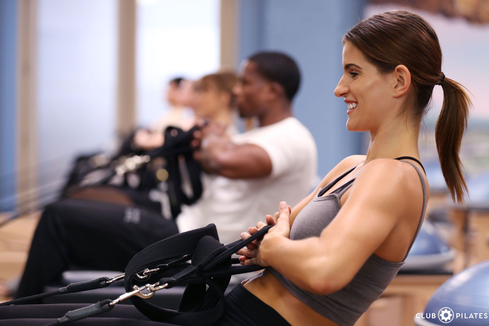 Club Pilates, a reformer-based Pilates studio founded in Costa Mesa, CA in 2007, is bringing its 50-minute modernized Pilates classes to the DMV with the opening of a location in Pentagon City. (Image: Courtesy Club Pilates)