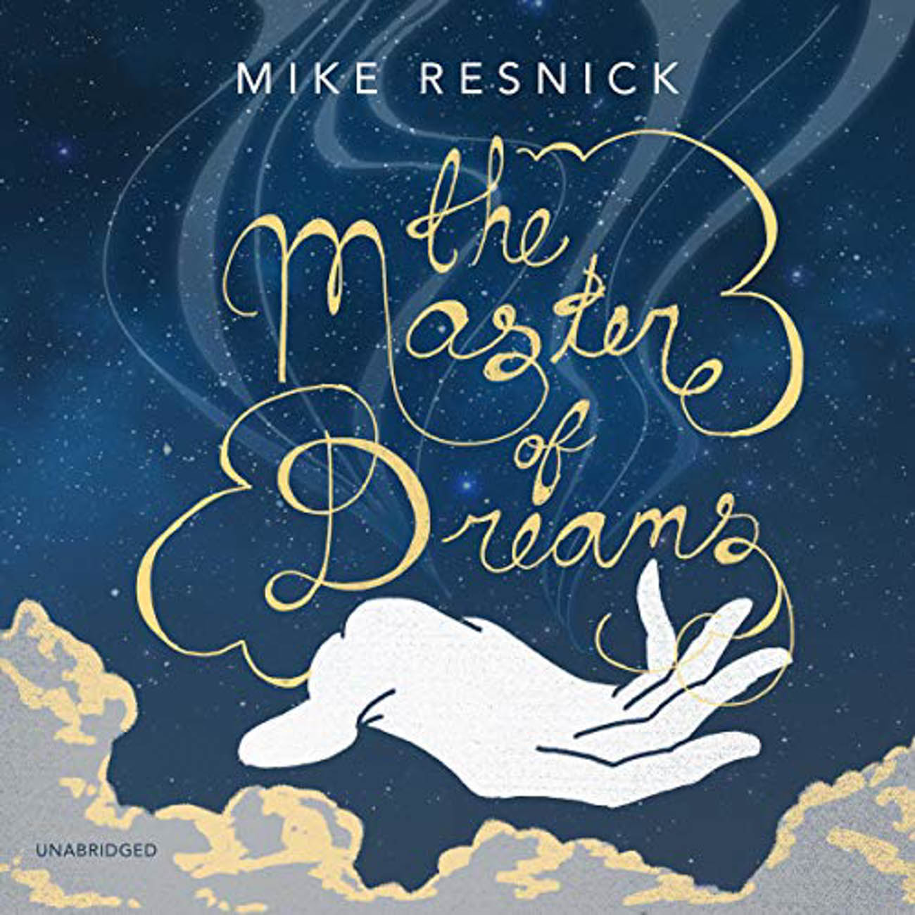 "A threatening presence is stalking Eddie Raven as he travels through time and various realities in Mike Resnick's, ""The Master of Dreams."" / Image courtesy of Audible // Published: 3.23.20"