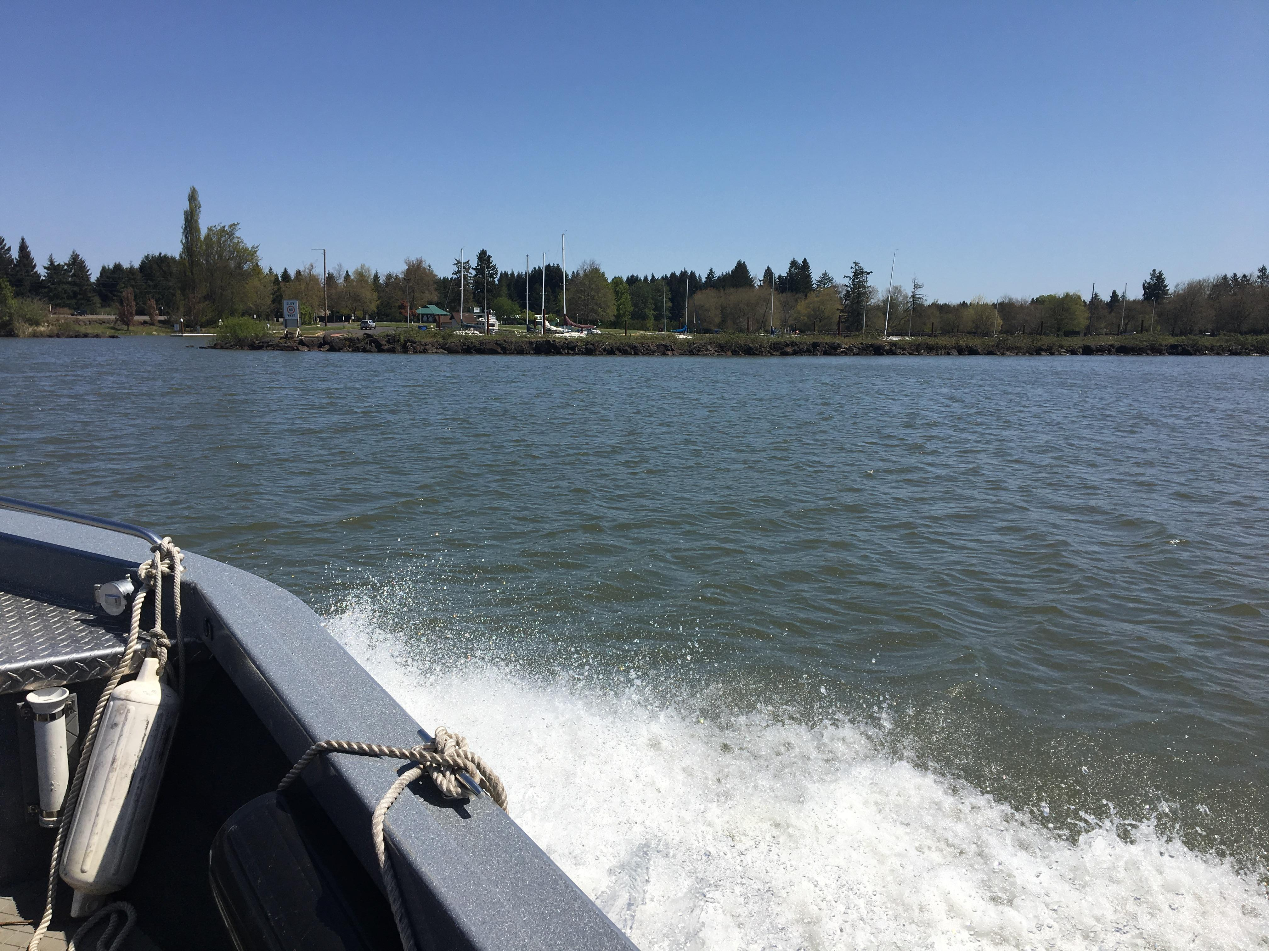The Search and Rescue crew has already saved several people from Oregon lakes and rivers this year, and they have a few warning for these nice spring days ahead. (SBG).