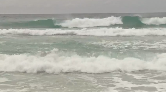 <p>The Escambia County Water Safety Chief, Dave Greenwood, told Channel 3 News they expect to switch to red flags at 9:30 a.m. on Sunday which would indicate rougher a higher rip current risk. (WEAR-TV Al Showers)</p><p></p>