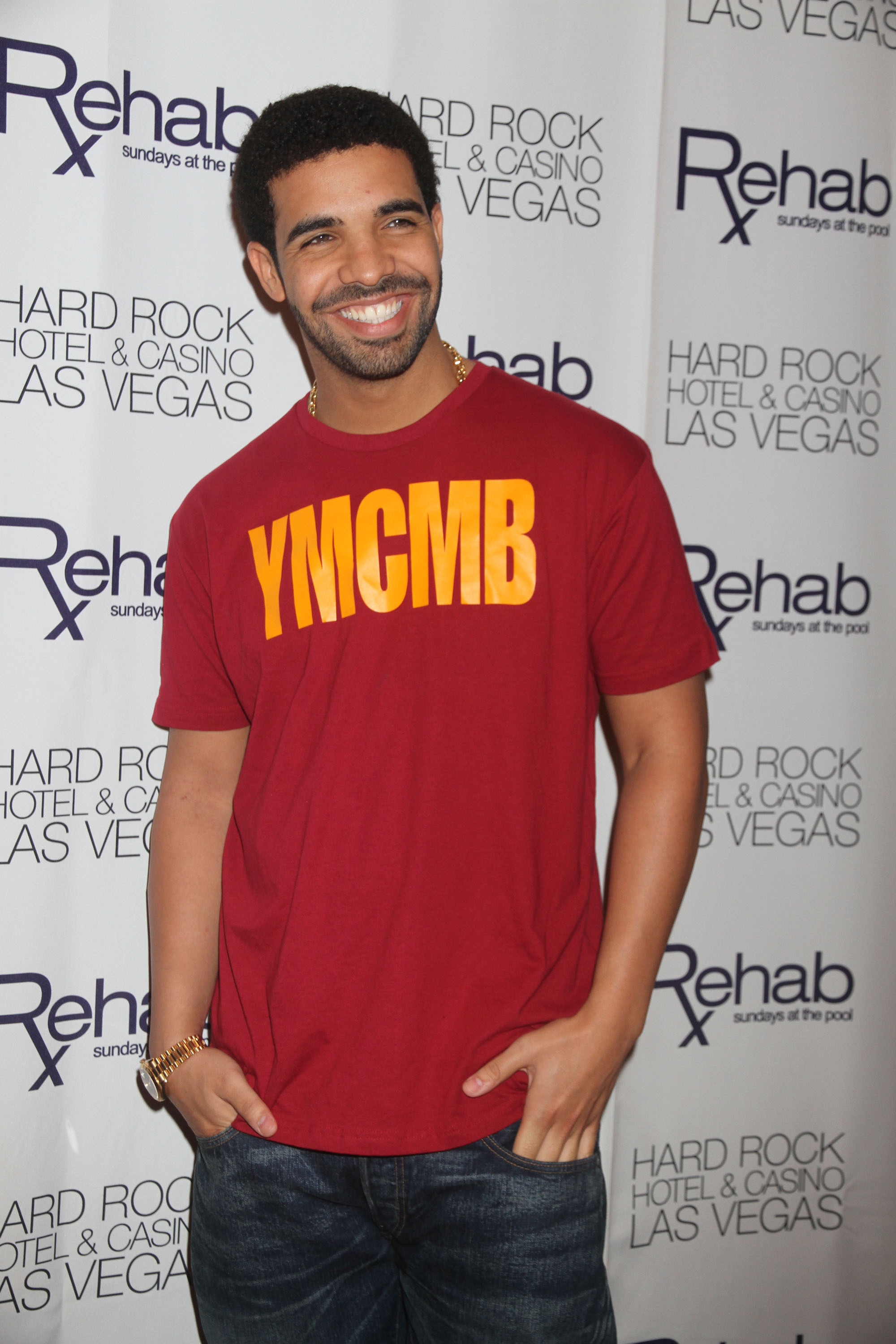 Rapper Drake hosts Rehab at Hard Rock Hotel & Casino                  Las Vegas, Nevada - 29.05.11                                    Where: Las Vegas, Nevada, United States                  When: 29 May 2011                  Credit: WENN