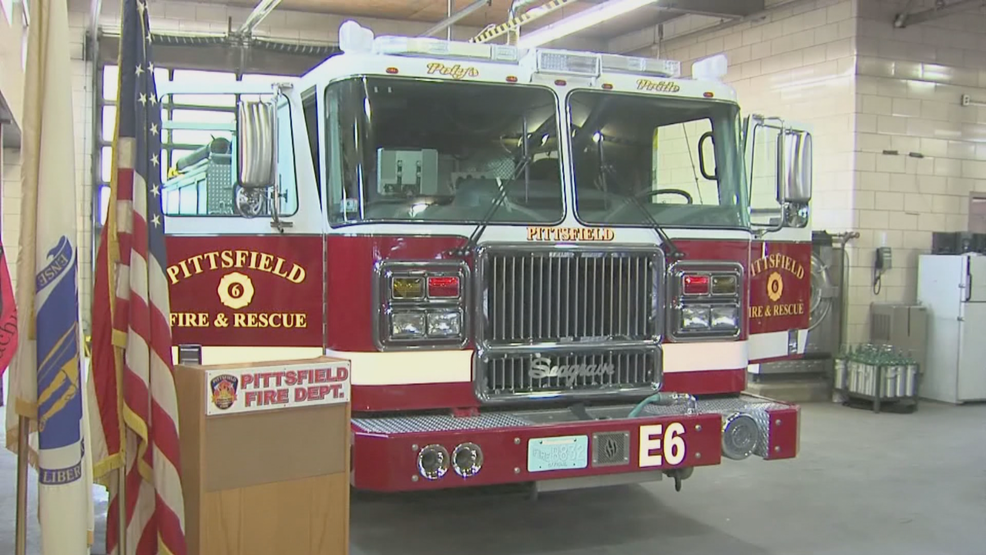Pittsfield Fire Dept  names engine after retired deputy