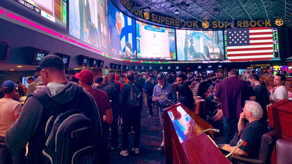 March Madness arrives in Las Vegas as bettors flood sportsbooks