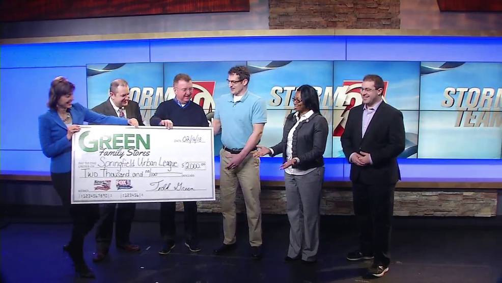 Green Family Stores >> Storm Team Green Family Stores Donate 2k To Springfield Urban