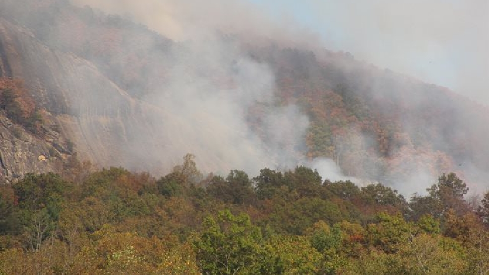 US Forest Service Saturday Update On Western NC Fires WLOS - Us forest service east tn wiildfires map