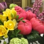 Personalize a flower arrangement for mom this Mother's Day