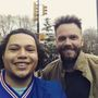 Uber driver takes actor Joel McHale from Rochester to NYC