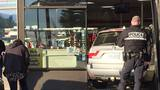 Woman crashes car into Medford 7-11