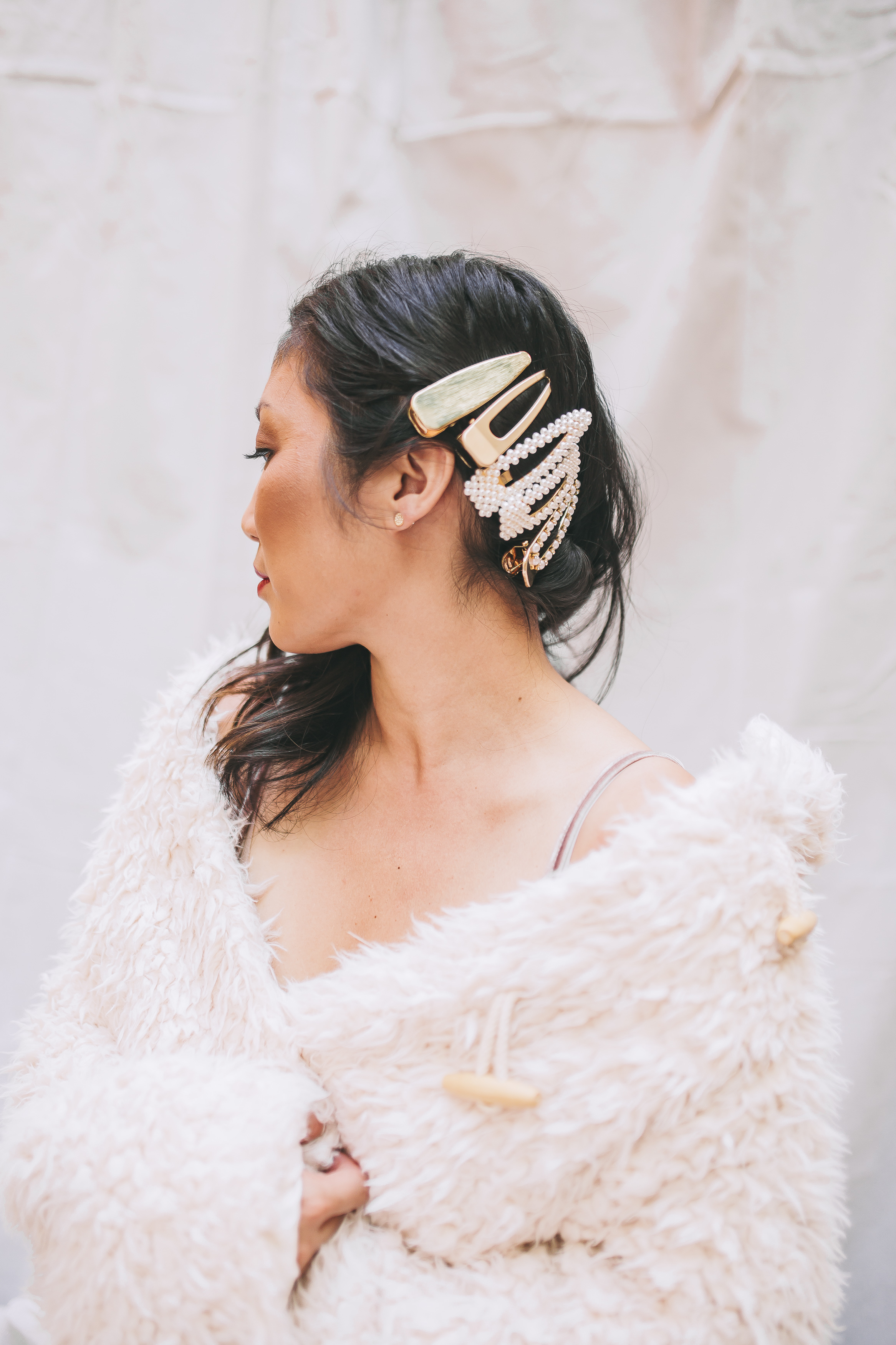 Hair Accessories are REALLY  in this season. (Image: Mandee Rae/Style Witch)