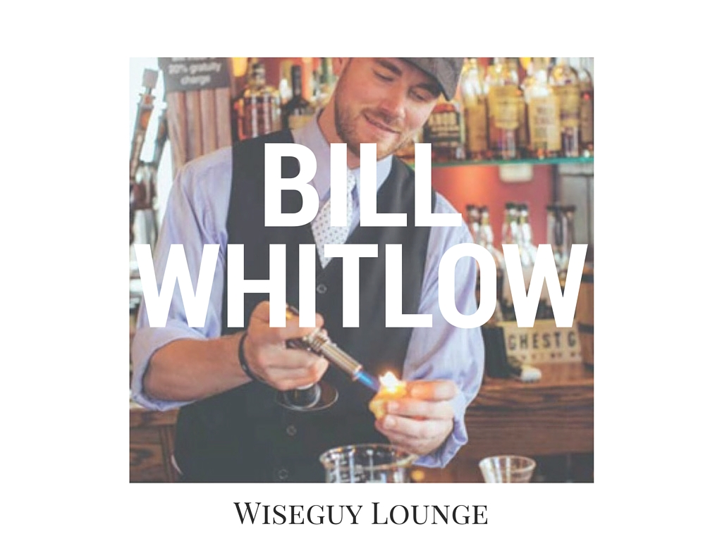 "FAVORITE DRINK TO DRINK: The shot of bourbon at the end of a Saturday night. / FAVORITE DRINK TO MAKE: ""See previous answer. But honestly, a good whiskey sour.  I think it's a very overlooked drink by the general public."" // IMAGE courtesy of Wiseguy Lounge"