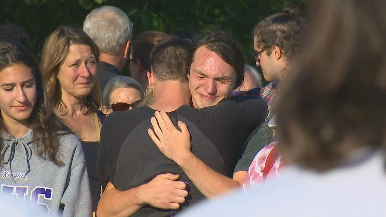 A vigil was held for the victims shortly after the shooting. (KOMO file photo)