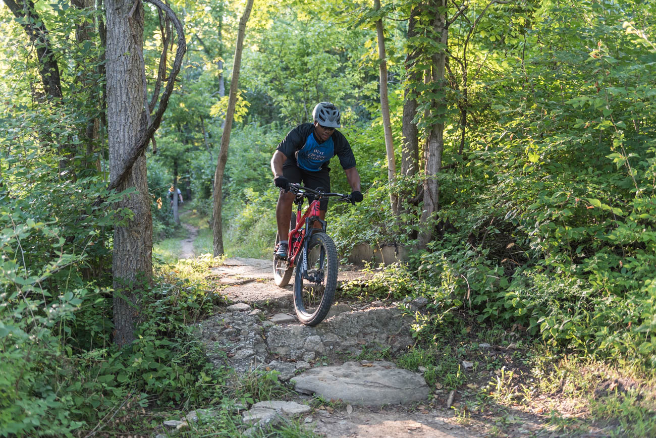 Mitchell Memorial Forest is a 1,473-acre forest on the west side of Cincinnati. Though the park is filled with many fantastic features, it boasts Hamilton County's first official mountain bike trail. The roughly eight miles of trail include two different courses: one for intermediate riders and one for advanced. The maintenance and upkeep of the trail is performed by the Cincinnati Off Road Alliance (CORA). ADDRESS: 5401 Zion Road (45002) / Image: Mike Menke // Published: 8.31.18