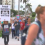 Dozens march to Mar-a-Lago in protest of 'separation of immigrant kids from families'
