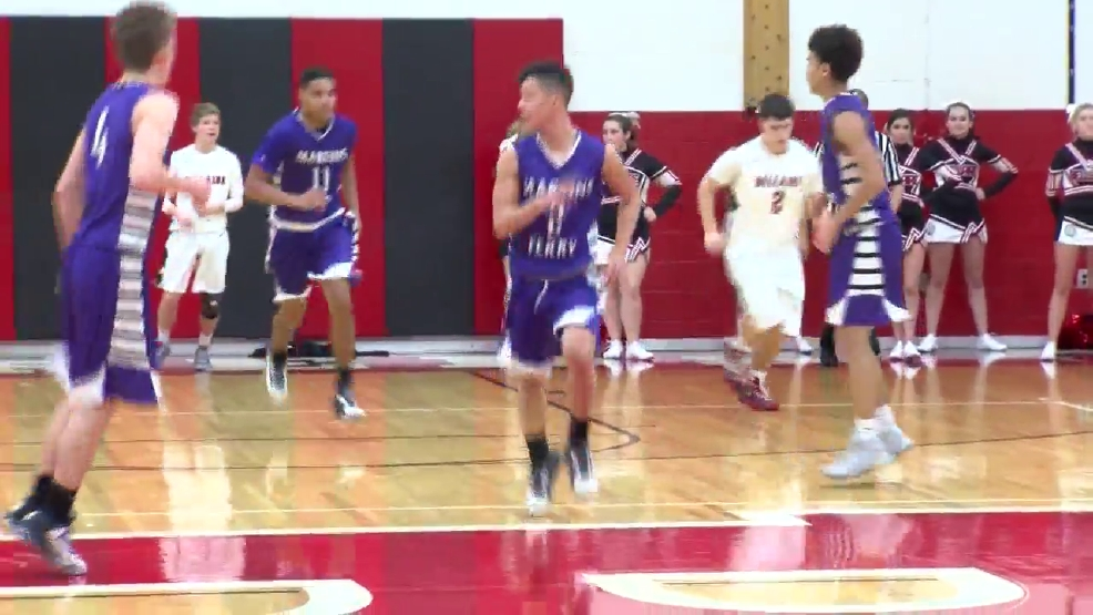 12.23.16 Video- Martins Ferry vs. Bellaire- high school boys basketball