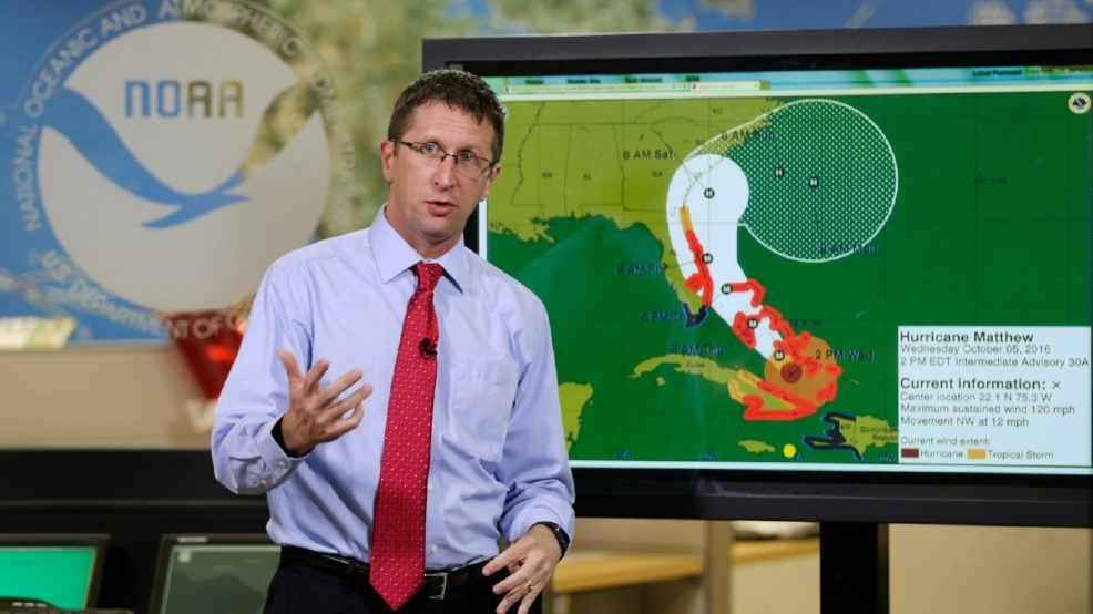 Hurricane Matthew throws weather forecast models for a loop... literally