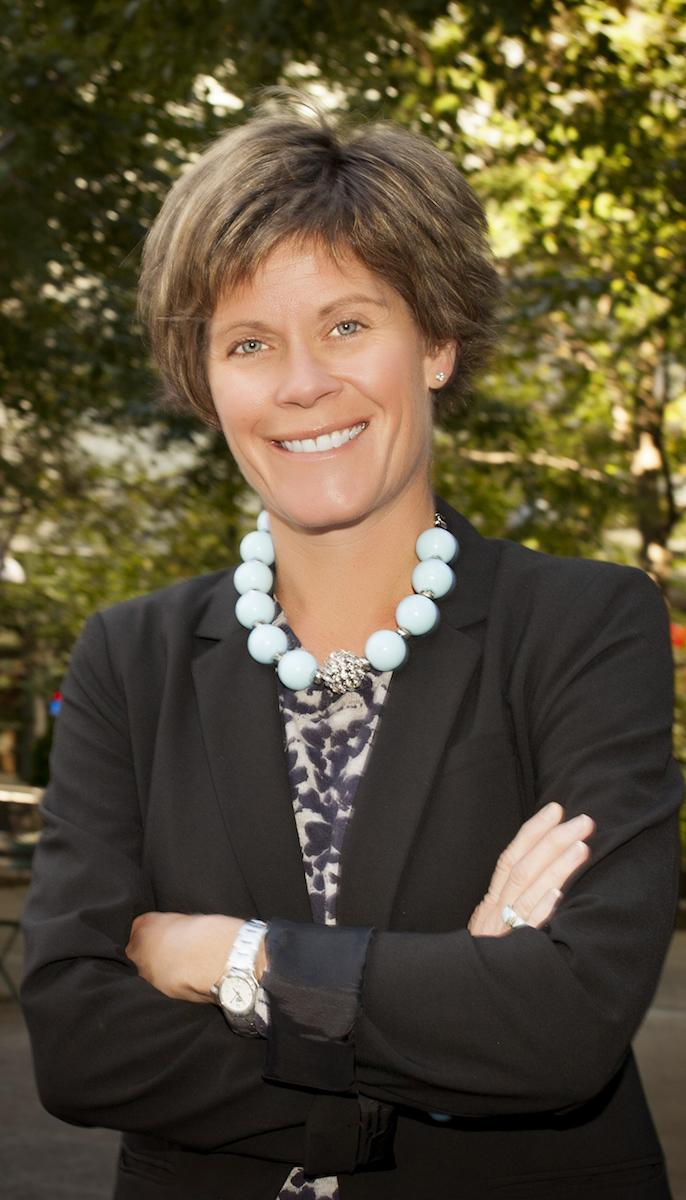 Julie Calvert, president & CEO of the CVB, is a Finneytown High School and Miami University graduate who began working for the CVB in 2001. / Image courtesy of the Cincinnati Visitors Bureau // Published: 9.4.18<br><p></p><br><br><br><br><br><br><p></p>