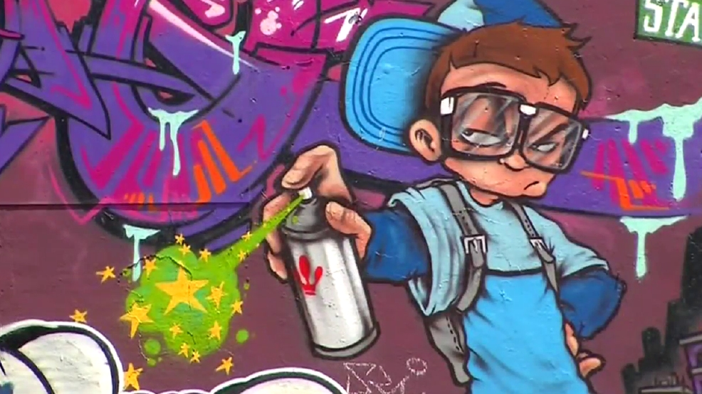 how to meet other graffiti artists