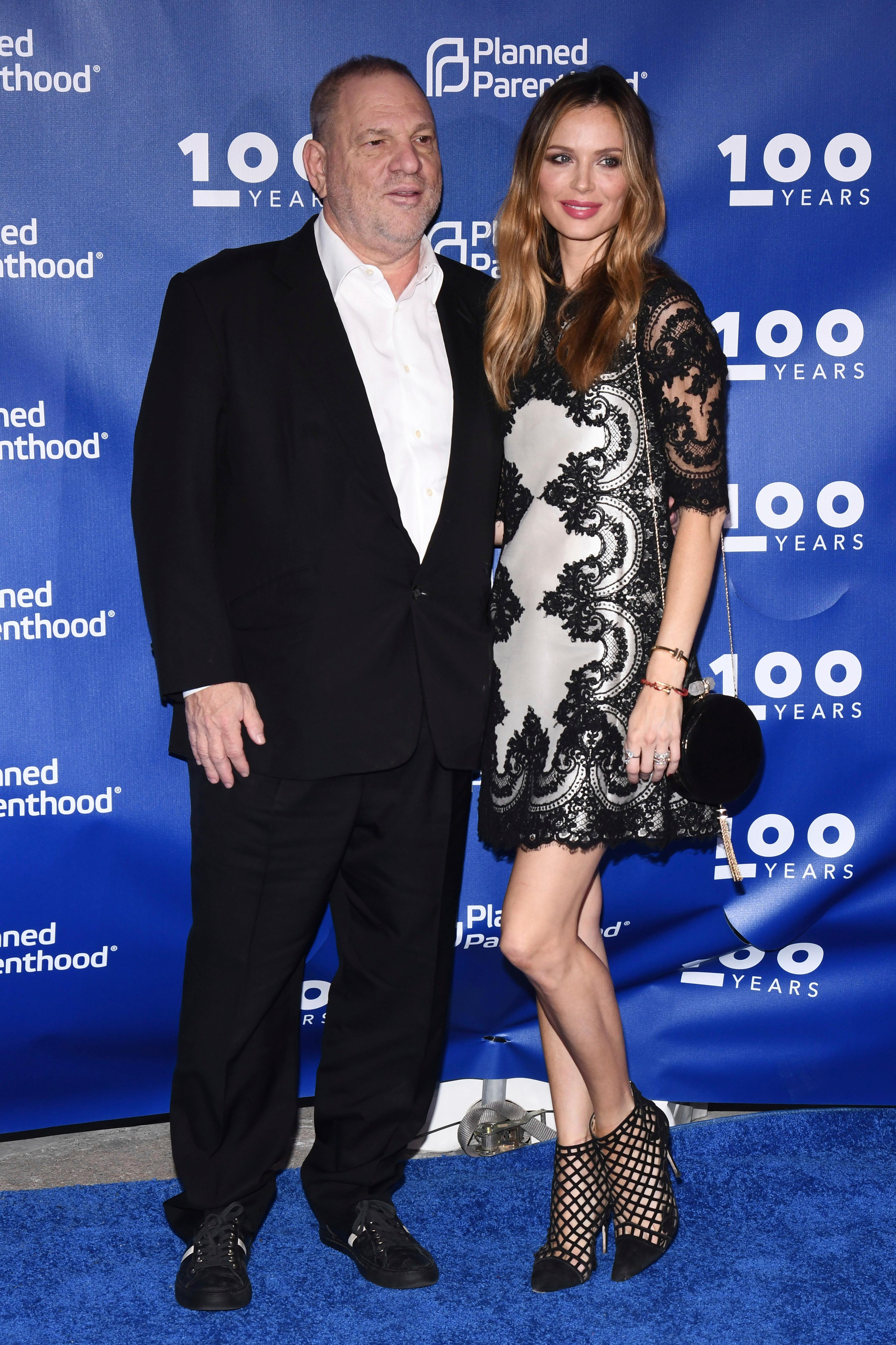 Harvey Weinstein and Georgina Chapman attend the Planned Parenthood 100th Anniversary Gala on Tuesday, May 2, 2017 in New York. (Photo by Charles Sykes/Invision/AP)