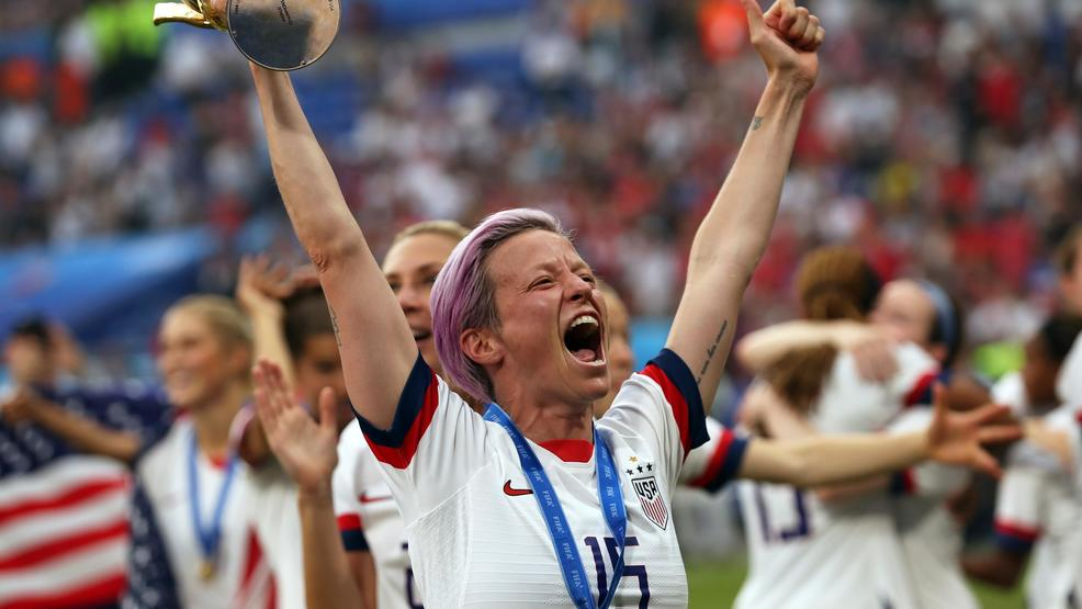 Megan Rapinoe named Sports Illustrated's 2019 Sportsperson of the Year