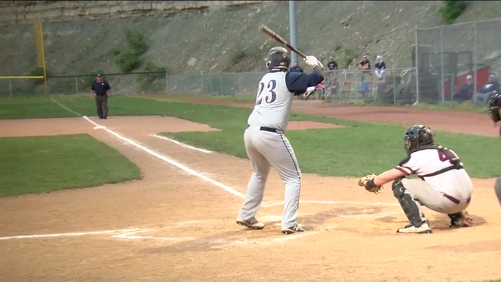 5.9.18 Highlights - Madonna vs Wheeling Central - sectional baseball