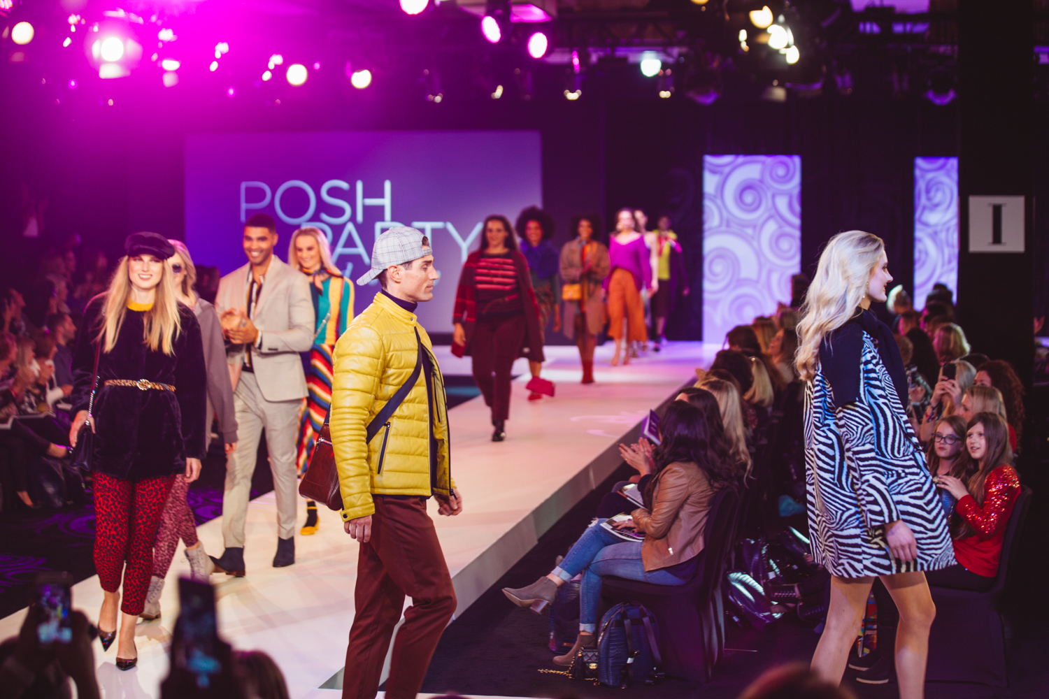 Welcome to a glimpse of Bellevue's Poshest Party of the year! It's Fashion Week at The Bellevue Collection, and last night (Sept. 21) marked their annual Posh Party Trend Show, an event highlighting trends from The Bellevue Collection's Fall 2018 Look Book. Everything you see on the models is available somewhere in the shopping center. (Image: Ryan McBoyle / Seattle Refined)