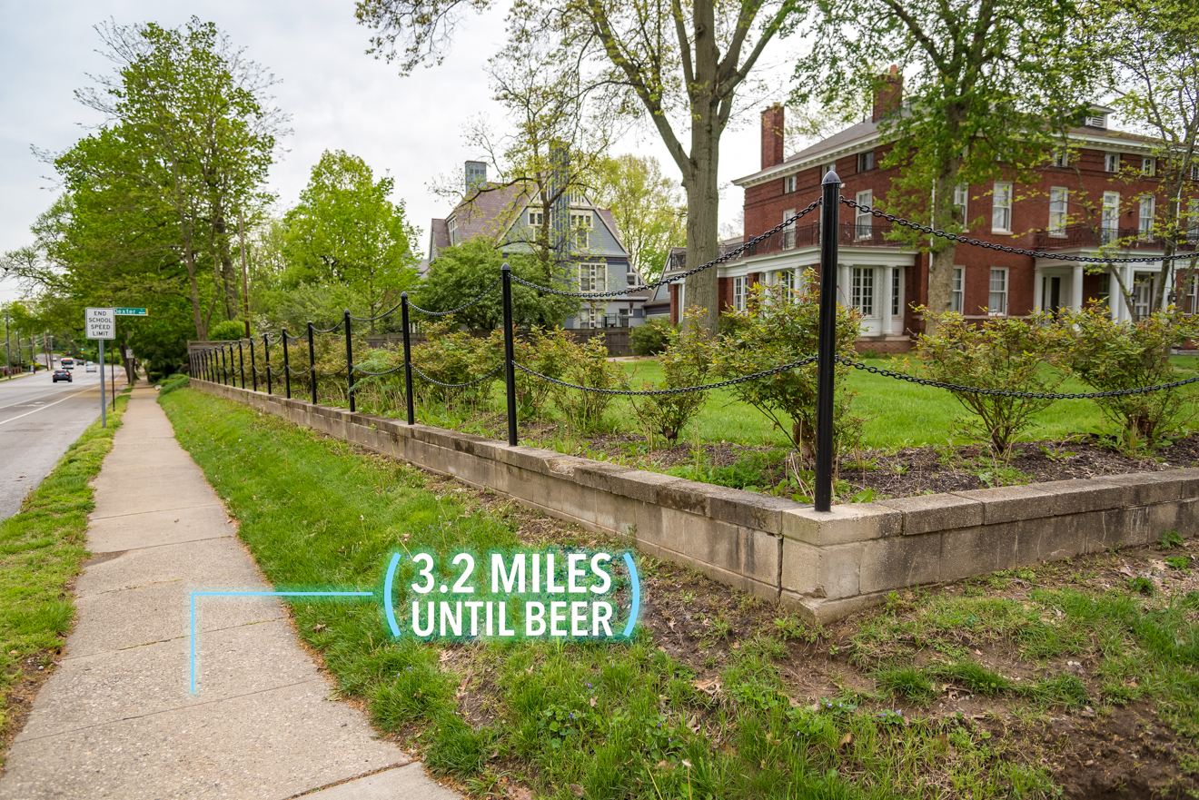 Continue on Madison Road. Walk on the right side of the road (because that's where MadTree will eventually be). / Image: Phil Armstrong, Cincinnati Refined // Published: 4.25.17