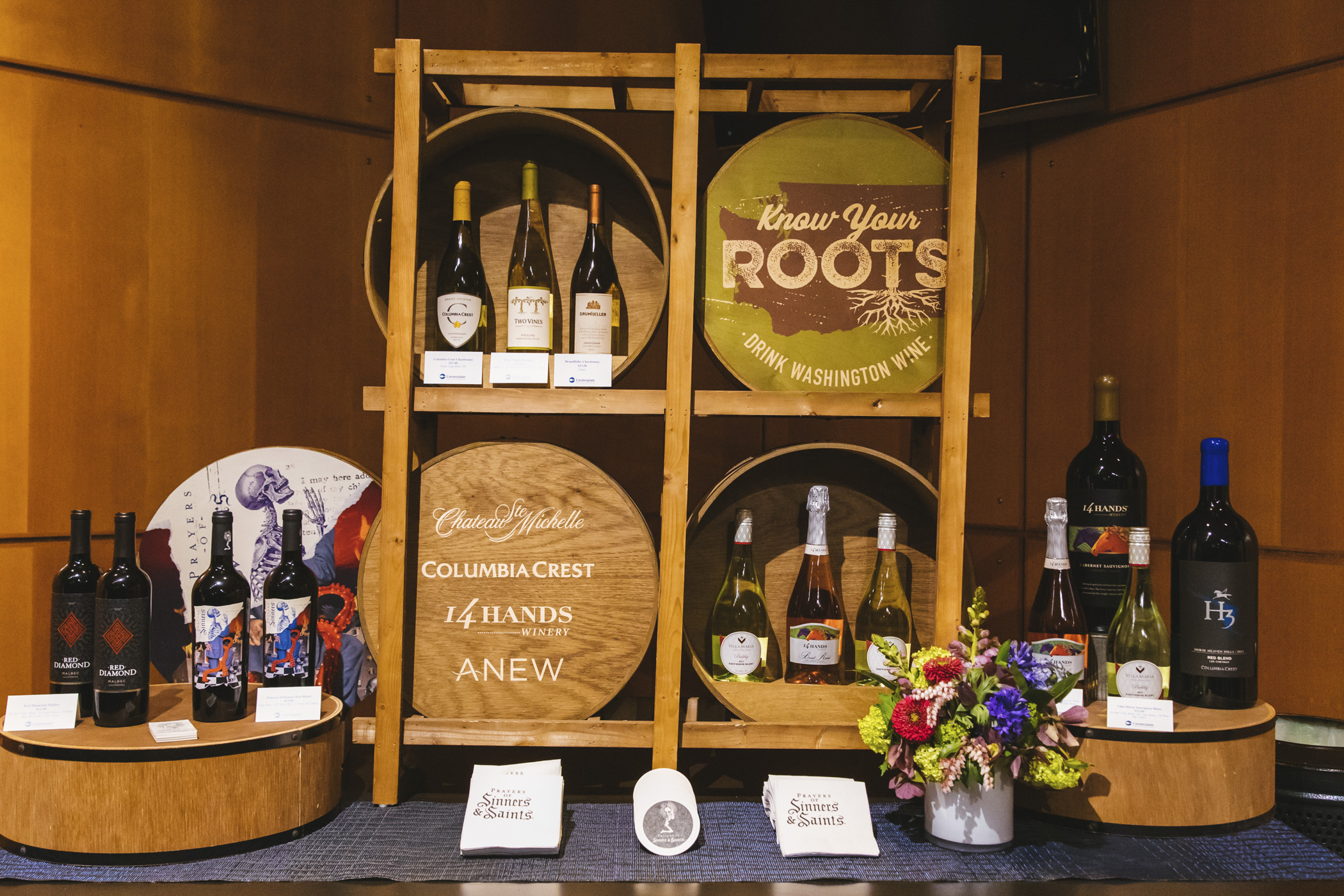 Wine selections. We snuck in a little preview of the beer, wine and spirits offerings for the 2020 Seattle Mariners season at T-Mobile Park! Home Opener is March 26 at 1:10 p.m. agains the Rangers. Go M's! (Image: Sunita Martini / Seattle Refined)