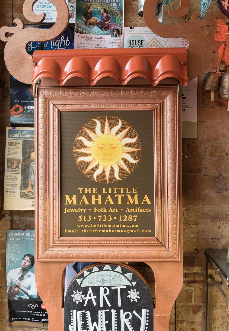 Little Mahatma is a purveyor of art collectables, deities, and jewelry from over 30 countries around the world. Beginning as a tiny shop in the Carew Tower over 20 years ago, it moved to Vine Street in the Gateway Quarter of Over-the-Rhine a decade ago. The boutique offers artisan goods not found in regular shops, making it a destination for those seeking unique cultural artifacts. ADDRESS: 1205 Vine Street (45202) / Image: Marlene Rounds // Published: 9.30.18