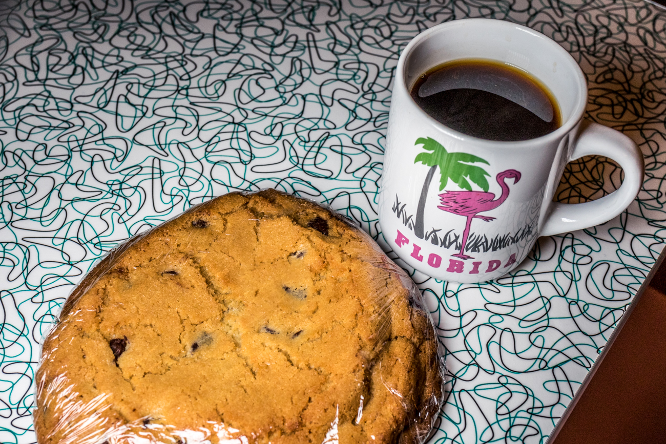 The best chocolate chip and tahini cookie on earth / Image: Catherine Viox{ }// Published: 7.24.20