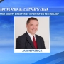 "Potter Co. suspends IT Director after he's arrested for ""public integrity crime"""