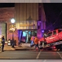Pickup truck slams into northeast Missouri newspaper office