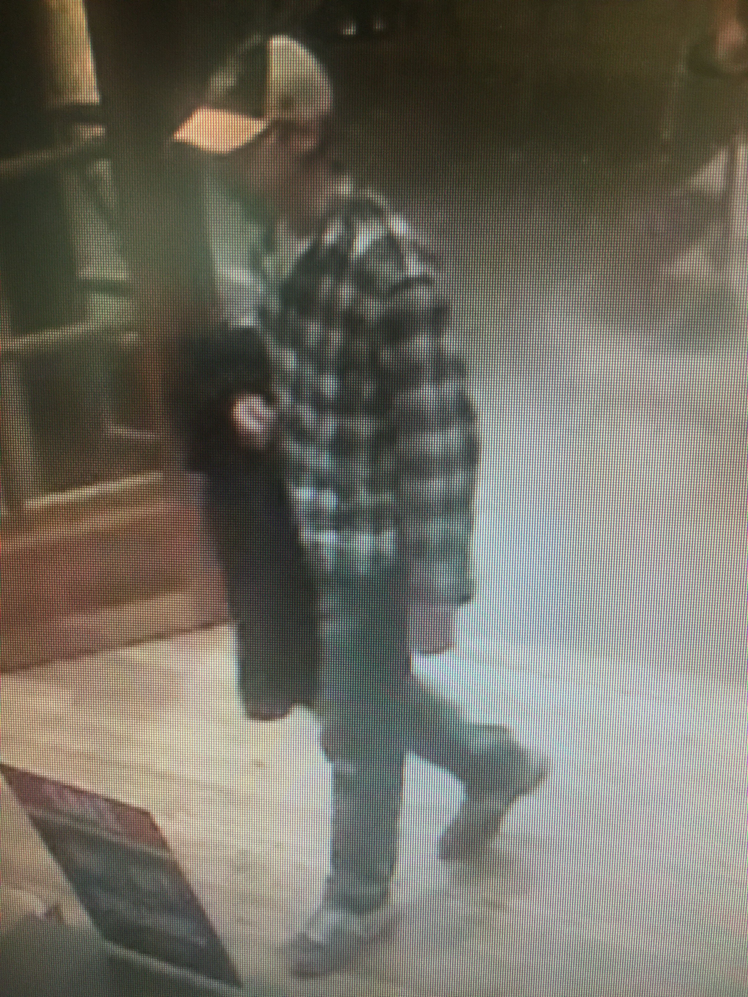 A man walked out of Cabela's last Saturday with two assault rifles worth $2,500 apiece, Springfield Police said. (Photo via SPD)
