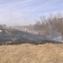 Heartland residents be cautious as dry conditions lead to more grass fires