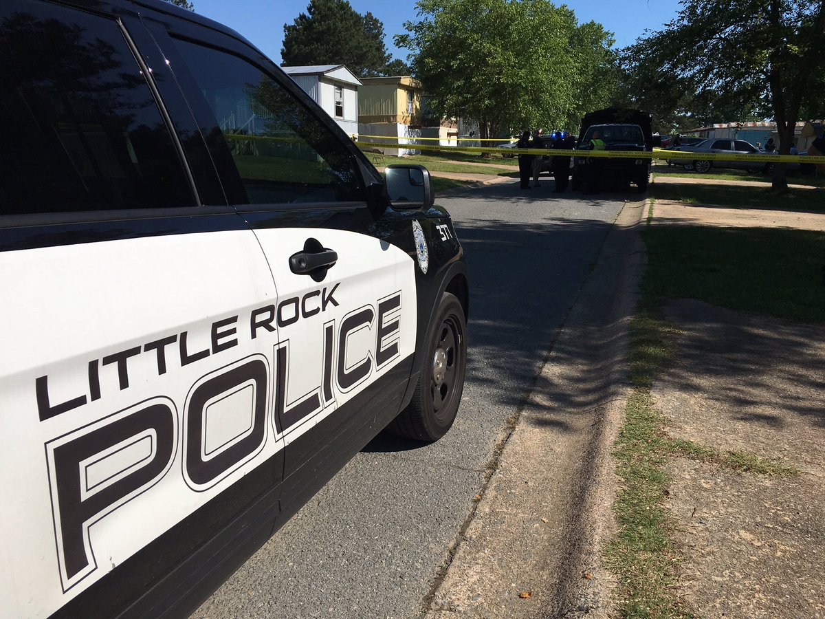 Police are investigating a double murder in Little Rock. (KATV photo)