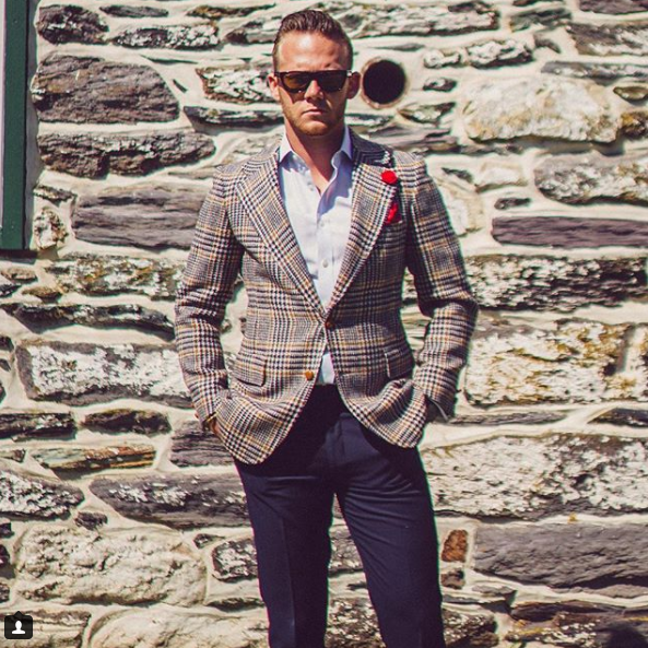 We love that Cory does not shy away from color or pattern in his outfits! (Image: Courtesy IG user @the_fashionable_man/{&amp;nbsp;}www.instagram.com/the_fashionable_man/){&amp;nbsp;}<p></p>