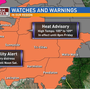 Kennewick under major Air Quality Warning by State Dept. of Ecology