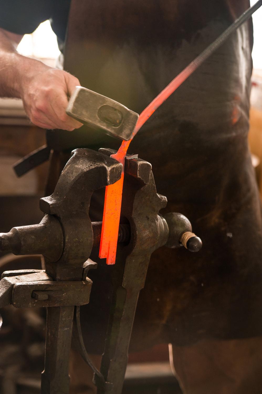 take a tour of mark gilsdorf u0027s blacksmith studio wkrc