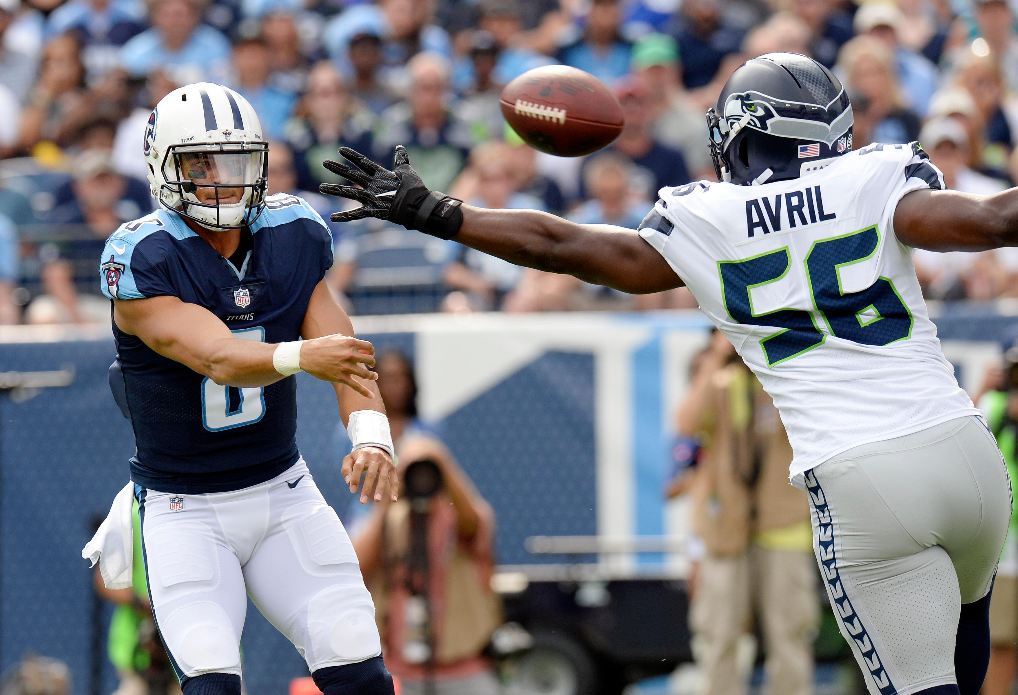 Cliff Avril was injured Oct. 1. (AP file photo)<p></p>